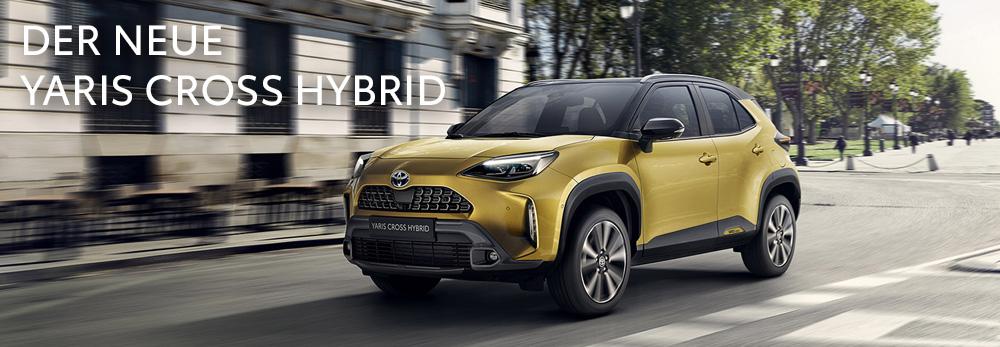Der neue Yaris Cross Hybrid